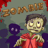 Zombie walking in group Stock Photos