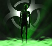 Zombie - weiter kommend Lizenzfreies Stockbild
