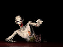 Zombie - Why wont you die. !  Stock Photo