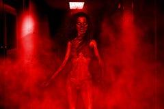 Zombie Woman Stock Photo