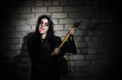 Zombie woman Royalty Free Stock Photo