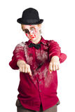 Walking dead zombie woman Royalty Free Stock Photography