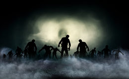 Zombie World illustration Stock Photo