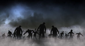 Zombie World illustration Stock Photography