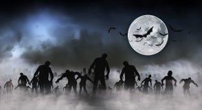 Zombie World illustration Royalty Free Stock Photos