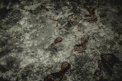 Zombieabdruck Stockfoto