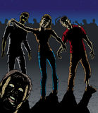 Zombieangriff Stockbilder