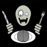 ZombieBrainloaf stock de ilustración