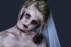 Zombieflicka Royaltyfri Bild