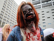 Zombiegang Stock Foto