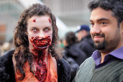 Zombiegang Stock Fotografie