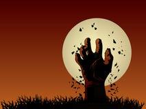 Zombiehand Stock Illustrationer