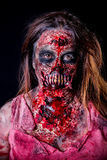 Zombiemeisje Royalty-vrije Stock Afbeelding