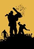 Zombiemoordenaar 4 Stock Fotografie