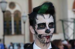 Zombien går i Brasilien Fotografering för Bildbyråer