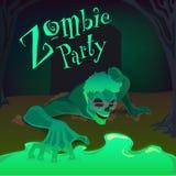 Zombiepartij Stock Fotografie
