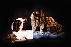 zombies Fotografia Stock Libera da Diritti