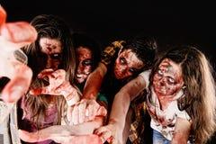 zombies Arkivbild
