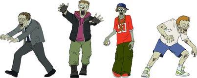 zombies Zdjęcie Stock