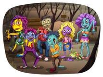 Zombies Royalty Free Stock Photo
