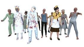 Zombies Royalty Free Stock Photos