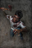 Zombies man Royalty Free Stock Image