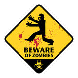 Zombies sign Stock Photos