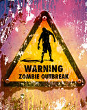 Zombies sign 1 Stock Image