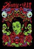 Zombiestern Stockbild