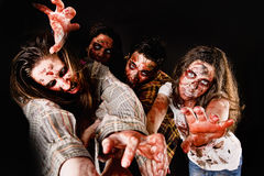 zombis Foto de Stock Royalty Free