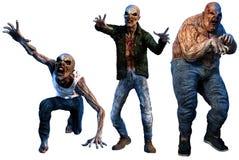 zombis ilustração royalty free