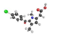 Zomepirac, an orally effective non-steroidal anti-inflammatory d Royalty Free Stock Photos