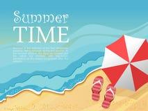 zomer stock illustratie