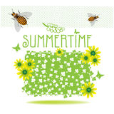 zomer vector illustratie