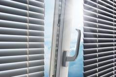 Zon door het venster. Stock Fotografie