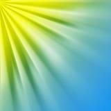 Zon en hemel royalty-vrije illustratie