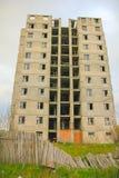 Zon för spökePripyat Tjernobyl uteslutande på vintern royaltyfria bilder