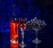 Zon in het glas Stock Afbeelding