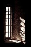 Zon in het venster Royalty-vrije Stock Afbeelding