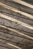 Zon op houten achtergrond Royalty-vrije Stock Foto
