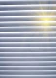 Zon in venster Stock Afbeelding