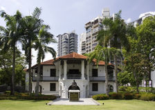 Zon Yat Sen Nanyang Memorial Hall, Singapore Royalty-vrije Stock Afbeelding