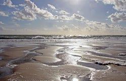 Zon, zand en overzees Royalty-vrije Stock Afbeelding