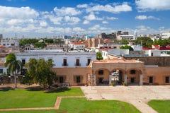 Zona殖民地居民,圣多明哥都市风景  免版税库存照片