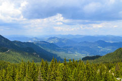 Zona alpina Fotografia Stock Libera da Diritti