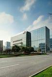 Zona alta tecnologia di architettura moderna Fotografia Stock