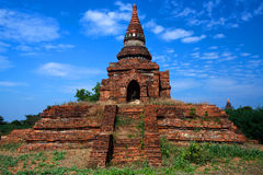 Zona archaeological de Bagan, Myanmar Foto de Stock Royalty Free