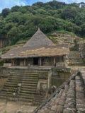 Zona archeologica di Malinalco fotografia stock libera da diritti