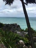 ³ Zona Arqueolà gica de Tulum Lizenzfreie Stockbilder