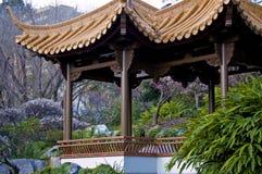 Zona asiatica del giardino Fotografia Stock Libera da Diritti